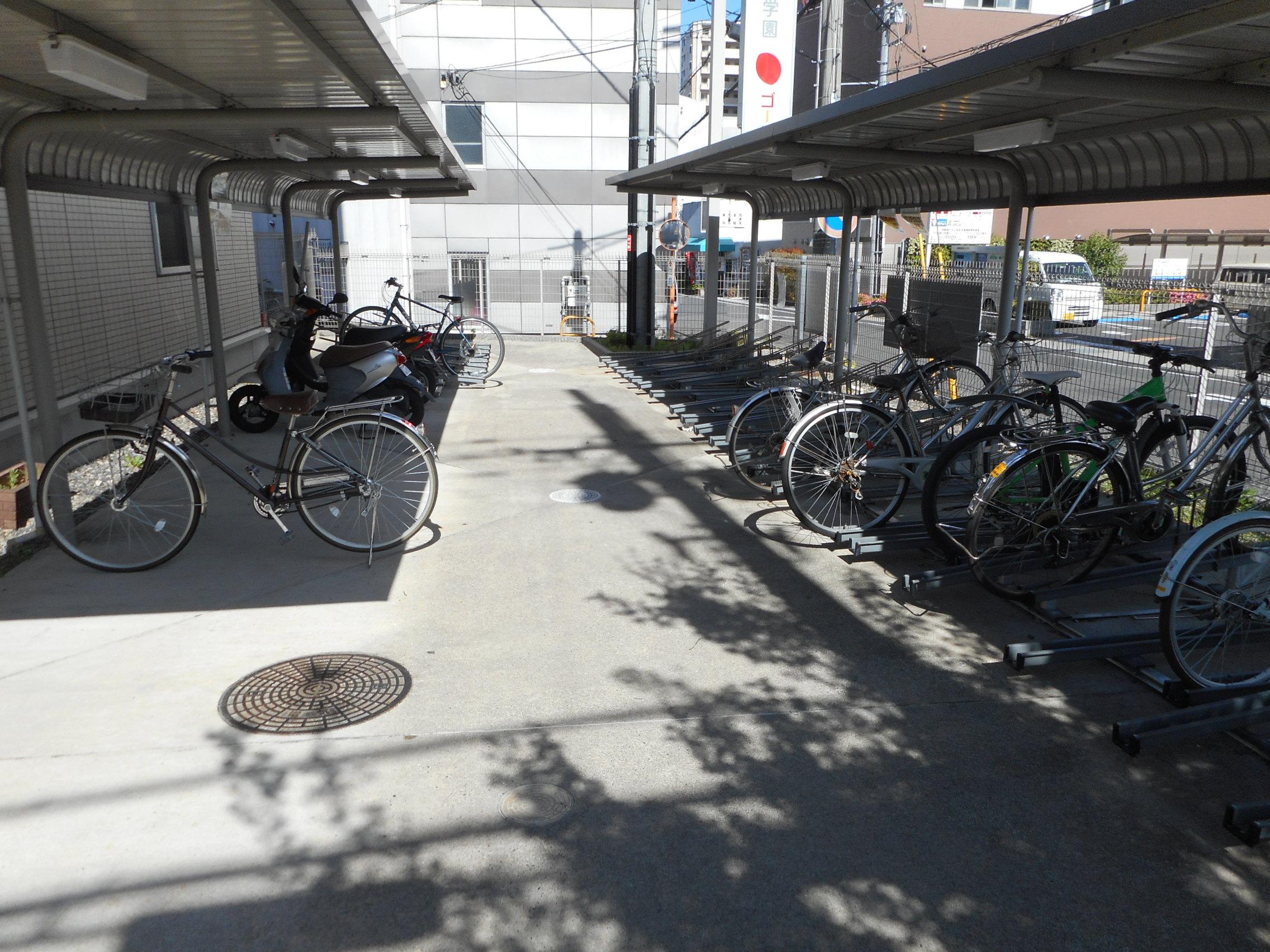 自転車で通塾できます!