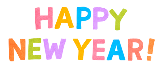 happy new yearイラスト