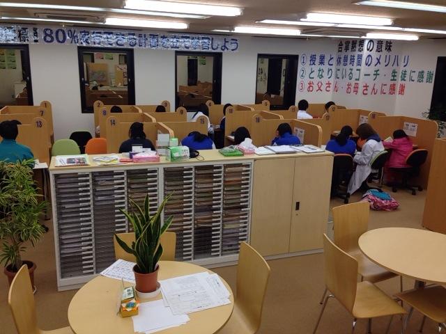 授業中の写真です!皆さん集中しています!